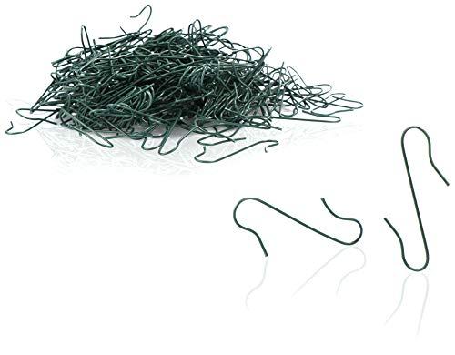 com-four® 300x Haken für Weihnachtsbaumschmuck - Doppelhaken für Weihnachtsbaum-Deko - Perfekt für Deko-Anhänger