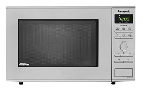 Panasonic NN-SD27HSBPQ Solo Inverter Microwave Oven, 23 Litre, 1000 W, Stainless Steel