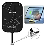 Nillkin Qi Wireless Charger Receiver - 0.7mm Ultra Thin Magic Tag,2000mAH Fast Wireless Charging Receiver for ipad Pro 11 inch 2020/2018, iPad Air 4th, Samsung Tab S7/S6/S5e/S4 - Type C Short