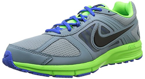 Nike Air Relentless 3 MSL Scarpe Sportive, Uomo, Multicolore (AVTR Gry/Blk-Elctrc Grn-Hypr C), 40