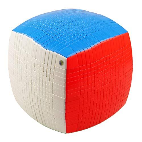 HXGL-Cubos Mágicos Cubo De La Velocidad Del Cubo De 17x17x17 Rompecabezas Juguetes Vacaciones Regalo De Cumpleaños For Los Niños Estudiante De Educación For La Competencia Profesional Sólida Durable R