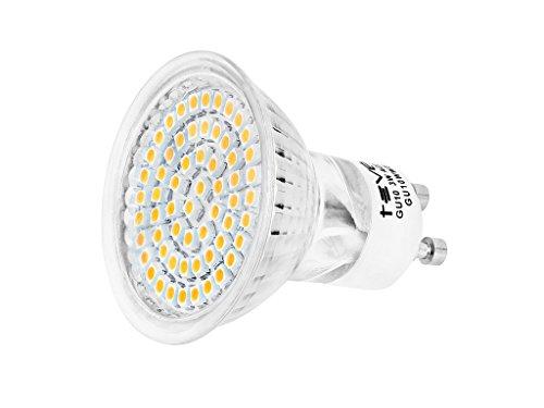 GU10 3W 60SMD3528 LED Spot 230V Bianco Caldo