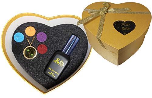 Eau de parfum intense BoVito ® № 21 pour femme, for woman, Made in Paris (coffret 50 ml + collier)