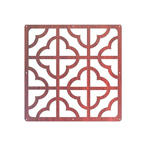 GUOQING 12 Unids Retro De Madera Sala De Colgante Divisora Decorativo Panel Pantalla Partición De Pared Moderno Sala De Estar Dormitorio Restaurante Sala Decorativa Divisoria Pantallas