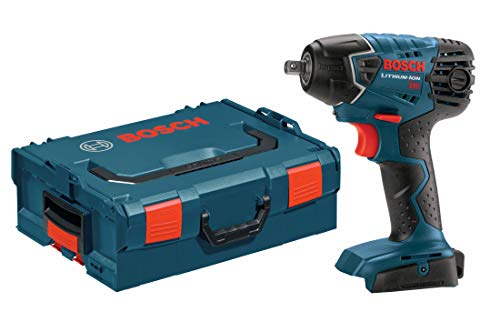 Bosch IWH181BL Bare-Tool 18-Volt Lithium-Ion 3/8-Inch Square Drive Impact Wrench with L-BOXX-2 and Exact-Fit Tool Insert Tray