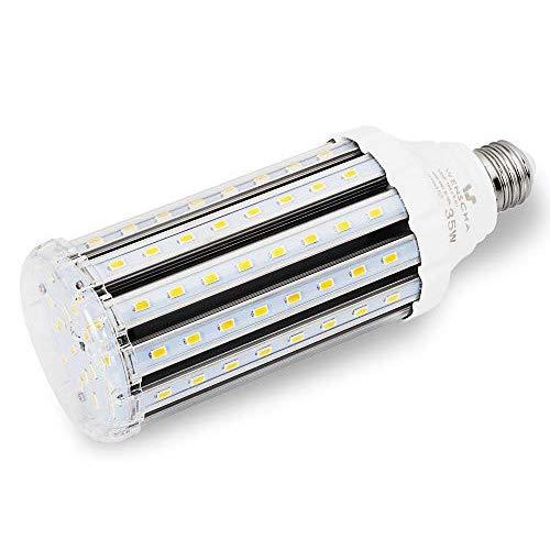 35W E27 LED Warmweiss, Wenscha E27 LED Mais Birne Maiskolben Energiesparlampe Warmweiss 3000K Ersatz 300W Halogen Glühbirne, E27 Led Lampe Beleuchtung Leuchtmittel 360°Abstrahlwinkel, nicht dimmbar