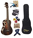 LHI 23-inch Hawaii ukulele rosewood professional concert Tenor Ukulele send tuner trim folder