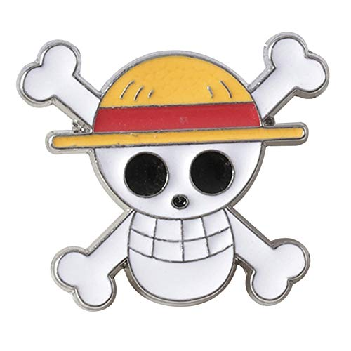 St.Mandyu One Piece Badge Anime Cartoon Character Alloy Badge Button Collectible Brooch Bag Novelty Cute Anime Clothes Accessory(H02)