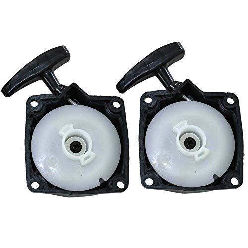 2x Seilzugstarter Starter für Motorsense Reversierstarter Rotfuchs Tarus Fuxtec Aram-Trade Stenson Timbertech BC52, BC520, MS52