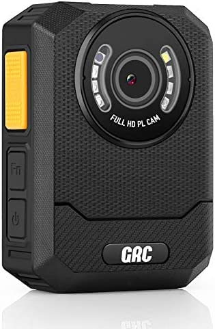 GRC X3B 1296P HD Police Body Camera with Audio 128GB Memory Night Vision 2 Inch Display Portable product image