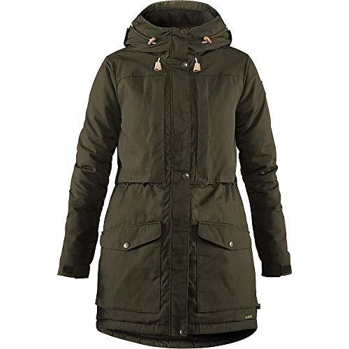 Fjallraven Damen Singi Wool Padded Parka W Sport Jacket, Deep Forest, S