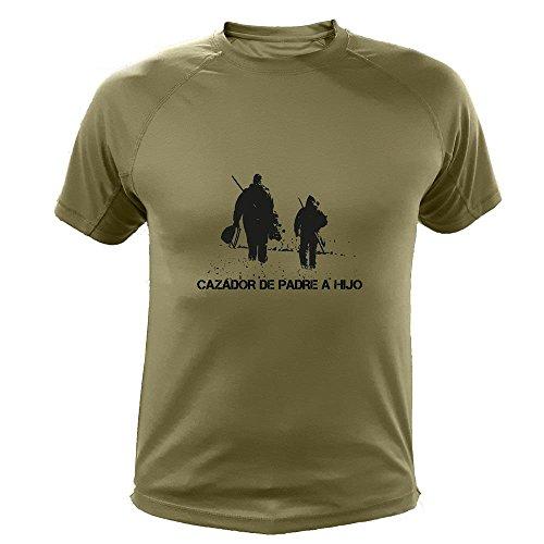 AtooDog Camiseta de Caza, Cazador de Padre a Hijo, Regalo Día del Padre