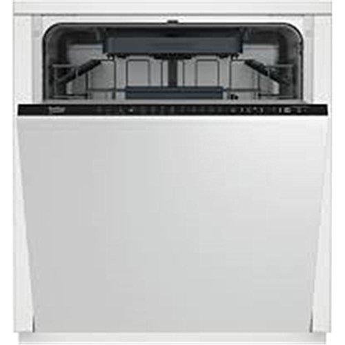 Beko DIN28423 Totalmente integrado 14cubiertos A++ lavavajilla - Lavavajillas (Totalmente integrado, Tamaño completo (60 cm), Negro, LCD, Acero inoxidable, 14 cubiertos)