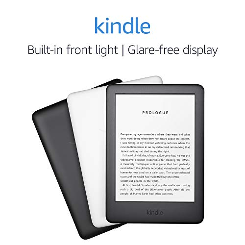 All-new Kindle - Now with a Built-in Front Light - Black - Includes Special Offers 10