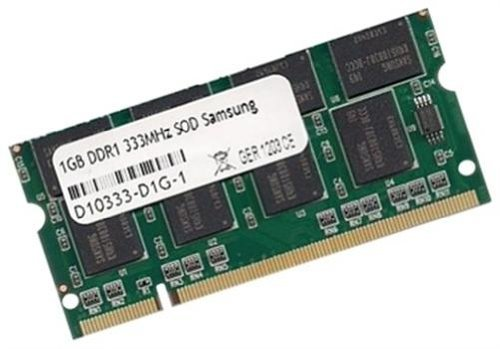 Samsung original 1 GB 200 pin SO-DIMM DDR-333 PC-2700 64Mx8x16 double side (M470L2923DV0-CB3) SODIMM