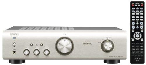 Denon PMA 520 AE Stereo-Vollverstärker (Aluminium Frontblende, ECO-Standby, 2x 70 Watt) silber