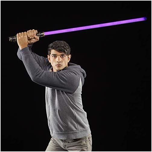 Star Wars The Black Series Mace Windu Ep3 Force FX Lightsaber Toy |