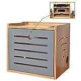 Caja de almacenamiento enrutador WIFI, gato óptico de pared, tira de potencia, clasificación de la tabla de cableado, caja de caja de la parte superior de la caja, caja de almacenamiento de escritorio