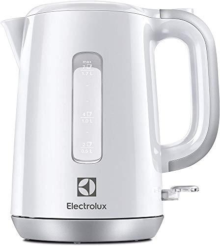 Electrolux EEWA3330 - Tetera eléctrica (1,7 L, 2200 W, Blanco, De plástico, Indicador de nivel de agua, Protección contra sobrecalentamiento)