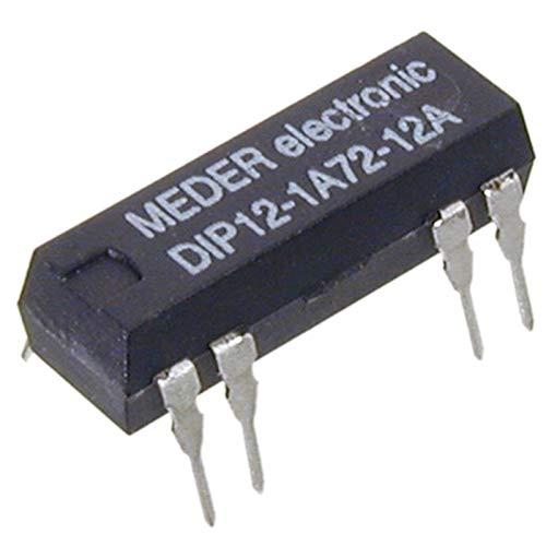 DIP121A7212A Reed-Relais 12V= 1xEIN 1000 Ohm +Diode in Reihe
