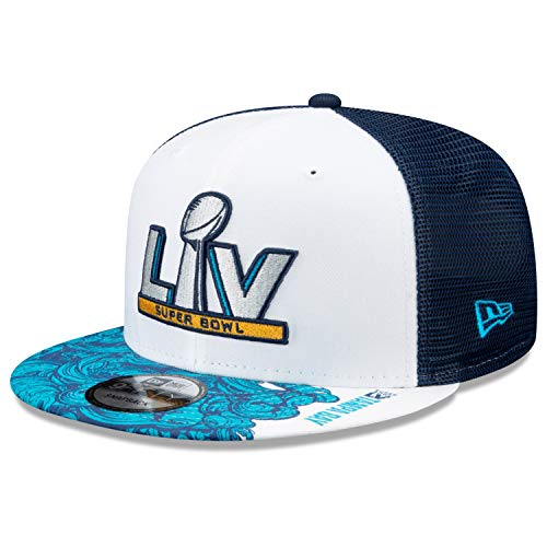New Era - Gorra NFL Super Bowl LV 9Fifty Trucker Snapback - Azul azul Talla única