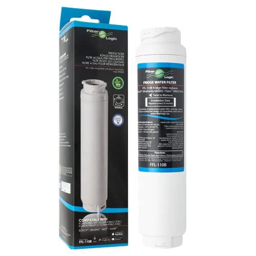 Filterlogic FFL-110B Filtro Acqua Compatibile con 3M UltraClarity 00740560, 740560/644845 per Bosch Siemens NEFF Miele HAIER Hotpoint Ariston frigoriferi – Ultra Clarity 9000733786 VIB-Z4500W0