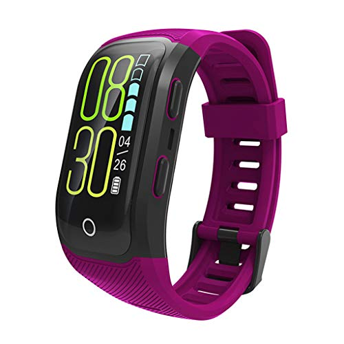 Best Price Ejolg IP68 Waterproof Fitness Trackers Smart Watch,with GPS Positioning, Heart Rate,Pedom...