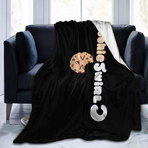 917 Rhrdh Coo-kiesw-irlc Ultra-Soft Micro Fleece Blanket Super Soft Plush Fuzzy Bed Throw Microfiber Holiday Winter Cabin Warm Blankets 80'x60'