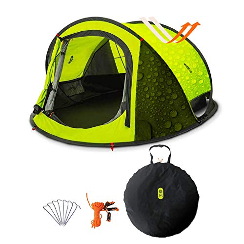 Zenph Pop Up Tent 2-3 Person Family Camping Tent, PU2000-3000mm Waterproof Automatic Camping Tent,UV Cut for Camping Hiking Festivals