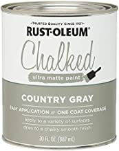 Rustoleum 285141 30 Oz Country Gray Chalked Ultra Matte Paint