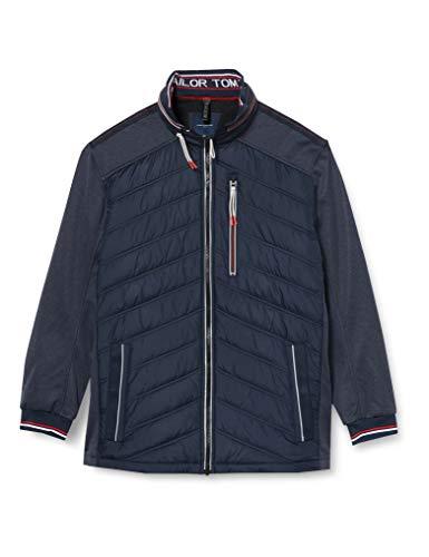 TOM TAILOR Men+ Herren Plussize Hybrid Jacke, 10668-Sky Captain Blue, 3XL