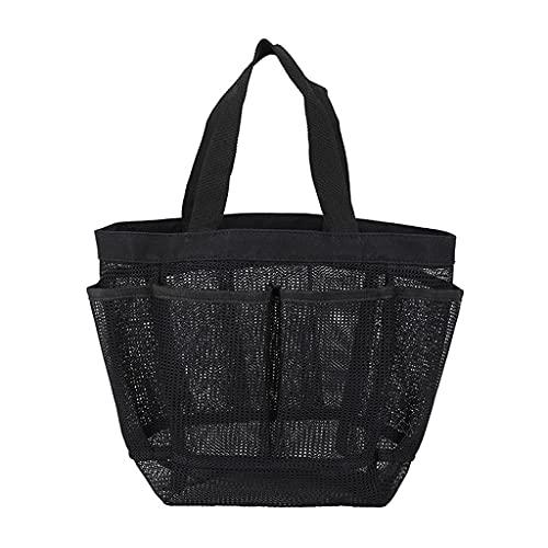KLOVA Multi-Pocket Mesh Shower Caddy Tote Bag Bolsa de Aseo portátil Colgante para Hombres y Mujeres College Dorm Essentials Quick