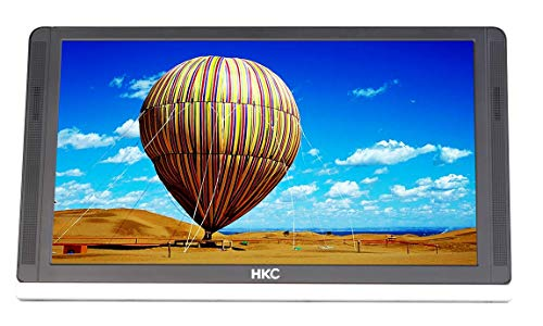 HKC MR13HFP Monitor portatile Full HD da 13 pollici (1920x1080p, HDMI-C, USB-C, pannello IPS, 60Hz), standard pieghevole e adattatore 12V   2A