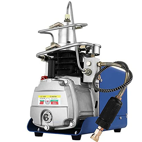 Holymus Yong Heng 4500 PSI Compressor, 30MPa High Pressure Air Compressor 4500 PSI for Air Rifle PCP Airgun Paintball Scuba Fill Station for Fire Fighting and Diving (30Mpa air Compressor)