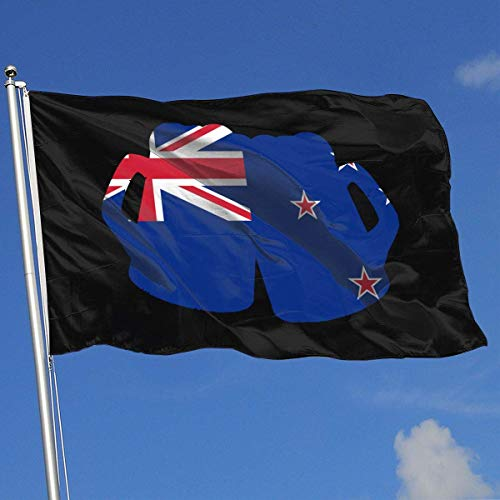 Zudrold Außenflaggen Neuseeland Flagge Bier Flagge für Sportfan Fußball Basketball Baseball Hockey