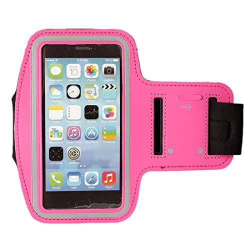 "Samsung Galaxy Tab ""Active 2"" Adjustable Neoprene Pink Sports Arm Band"