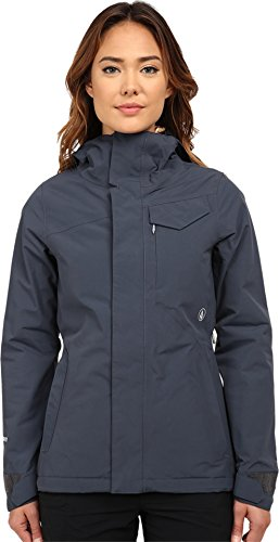 Volcom Junior's Bow Insulated Gore-Tex Snow Jacket, Charcoal, X-Large