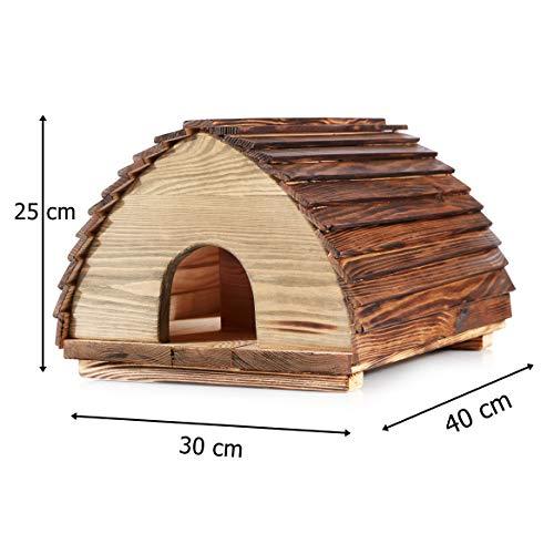 Berk Öko-Igel-Haus Massivholz-Konstruktion mit Deckel Erfahrungen & Preisvergleich