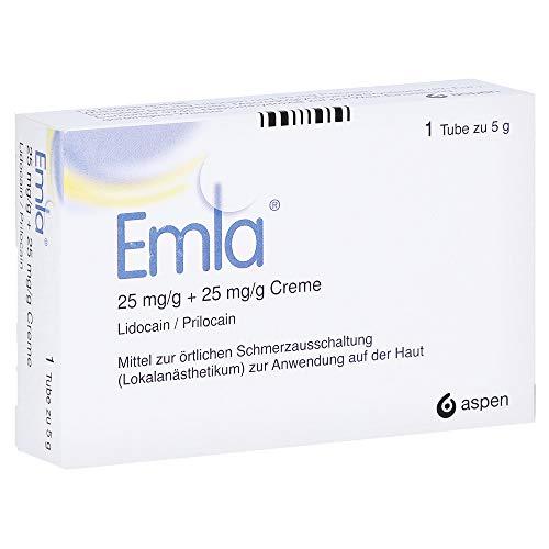 EMLA 25 mg/g + 25 mg/g Creme + 2 Tegaderm Pfl. 5 Gramm