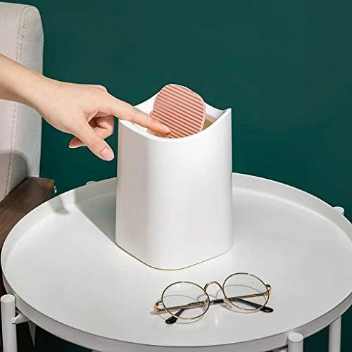Mini creativo extraíble escritorio lindo portátil oficina hogar (blanco)