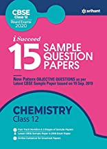 15 Sample Question Papers Chemistry Class 12th CBSE 2019-2020