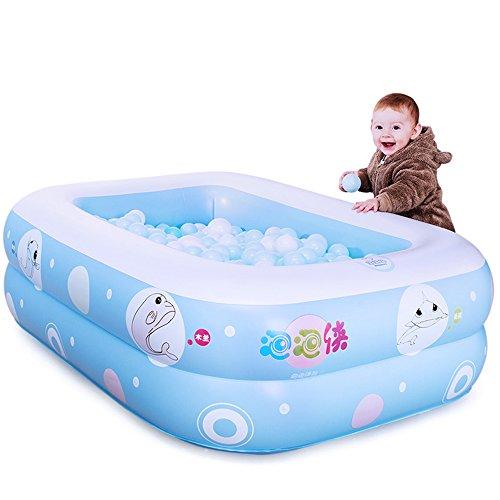 GJ- Children Play Piscine Seau Newborn Tub, Protection De L'environnement Matériel PVC Bébé Piscine Gonflable(120*90*35cm) ( taille : 120*90*35cm )