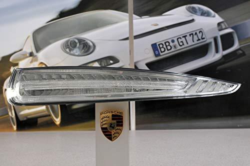 Producto nuevo. Porsche 991 991 - Luz trasera derecha para Porsche (cristal transparente), color blanco