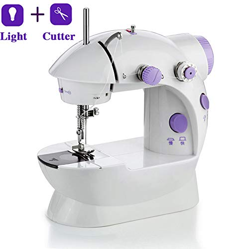 New Portable Sewing Machine, 12 Built-in Stitches, 2 Speeds Double Multifunction Electric Handheld M...