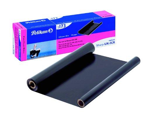 Pelikan 2173 Thermotransfer-Rolle ersetzt UX-3CR für Sharp, 220 mm x 30 m, schwarz