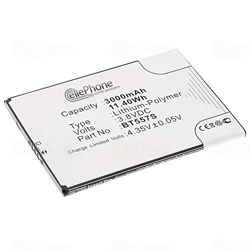 cellePhone batería Li-Polymer para Zopo Speed 7 Plus (reemplazado BT557S)