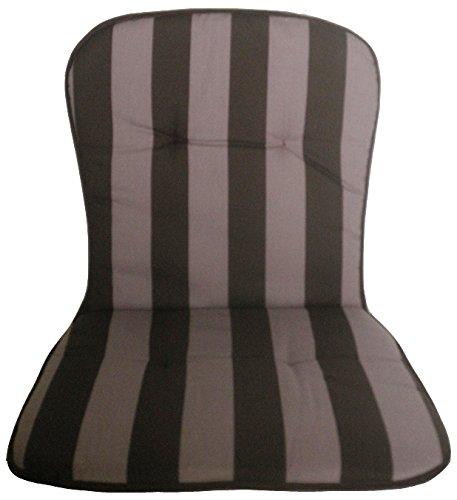 beo BS53 Kos MN Monoblockauflage für niedrige Stapelstühle, circa 44 x 80 cm, Stärke circa 2,5 cm
