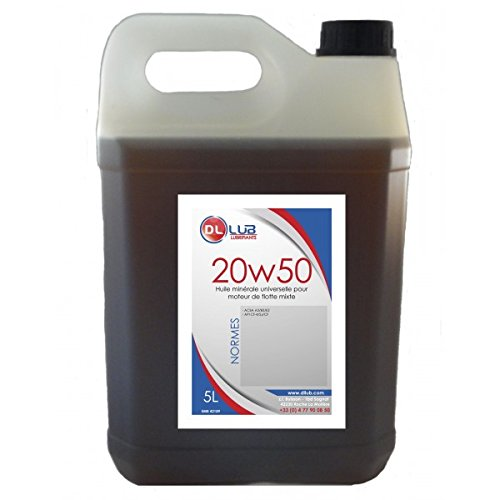 DLLUB - HUILE MINERALE SAE 20W50-5 litres