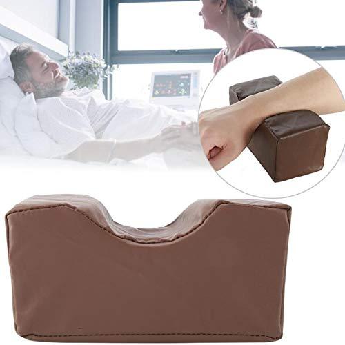 Elevate Legs Extraíble Alivie el dolor 2 colores Almohada de soporte Cojín de soporte de esponja de cuero PU para piernas(Brown, 20 * 10 * 10cm)