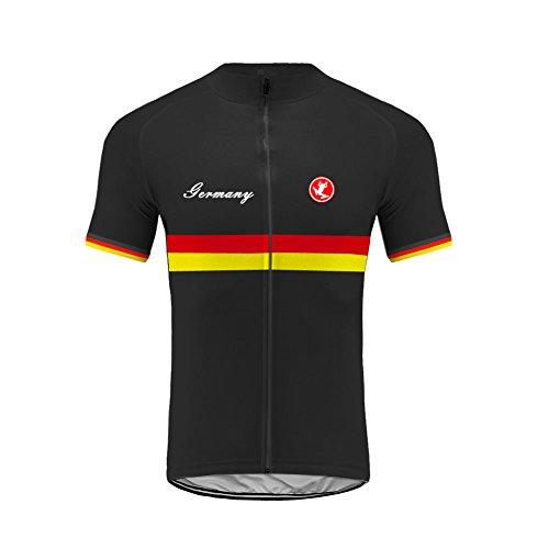 Uglyfrog Abbigliamento Ciclismo Uomo Ciclismo Maglia Traspirante Asciugatura Veloce Bicicletta Corto Manica Camicia GQZ04